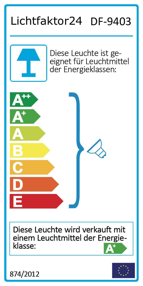 Energielabel, für eine größere Ansicht bitte klicken.