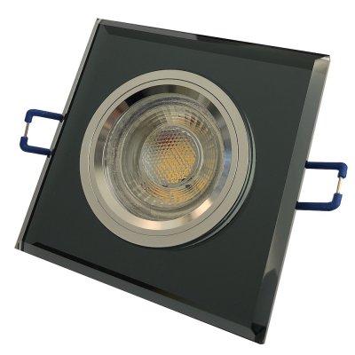 Eckige Glas LED Einbaustrahler. Sehr schöne...