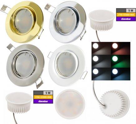 Smart Wifi LED Einbaustrahler. Besonderheiten:...
