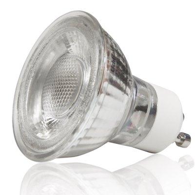 Glas LED Leuchtmittel mit Gu10 oder Gu5.3...