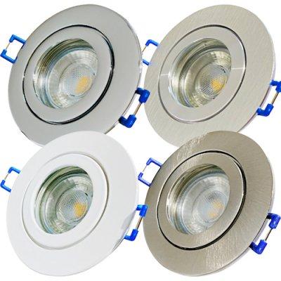 Die LED Einbaustrahler dürfen in Bereichen...