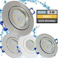 IP44 | SMD LED Einbauleuchten Marina | 3Watt | 230Volt |...
