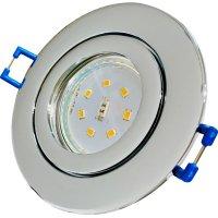 IP44 | SMD LED Einbauleuchten Marina | 3Watt | 230Volt | Rund