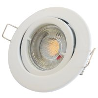 LED Einbaustrahler Timo / 230V / 5W / 400Lumen / Schwenkbar / Bajonettverschluss