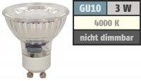 LED Einbaustrahler Timo / 230V / 3W / 250Lumen / Schwenkbar / Bajonettverschluss