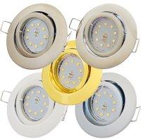 SMD LED Einbaustrahler Timo / 230Volt / 3Watt / 250Lumen...