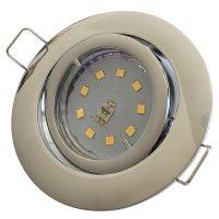 SMD LED Einbaustrahler Timo / 230Volt / 3Watt / 250Lumen / 120° Abstrahlwinkel