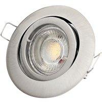 DIMMBAR / LED Einbaustrahler Timo / 230Volt / 7Watt /...
