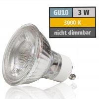 LED Einbaustrahler Jan / 230V / 3W / 250Lumen / Schwenkbar / Aluminium