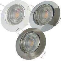 LED Einbaustrahler Jan / 230V / 7W / 550Lumen /...