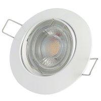 DIMMBAR / LED Einbaustrahler Jan / 230Volt / 7Watt / 450Lumen / Gu10