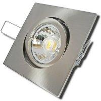 Einbaustrahler Dario / LED Leuchtmittel 230V / 7Watt /...