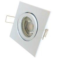 DIMMBAR / LED Einbaustrahler Dario / 230Volt / 7Watt / 450Lumen / Gu10