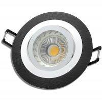 Einbaustrahler Leonie / LED Leuchtmittel 230V / 3Watt /...