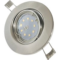 SMD LED Einbaustrahler Tomas / 230V / 5W=50W / Schwenkbar...