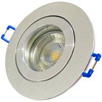 3W LED Bad Einbauleuchte Marina 230 Volt / IP44 / Clipring / 250 Lumen