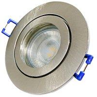 7W LED Bad Einbauleuchte Marina 230 Volt / Dimmbar / IP44 / Clipring / 450 Lumen