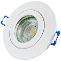 7W LED Bad Einbauleuchte Marina 230 Volt / Dimmbar / IP44 / 450 Lumen