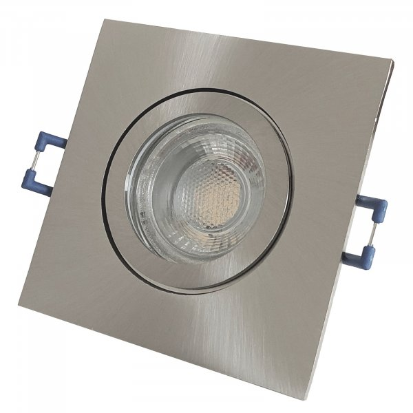 7W LED Bad Einbaustrahler Marin 230 Volt / Dimmbar / IP44 / Clipring / 450 Lumen