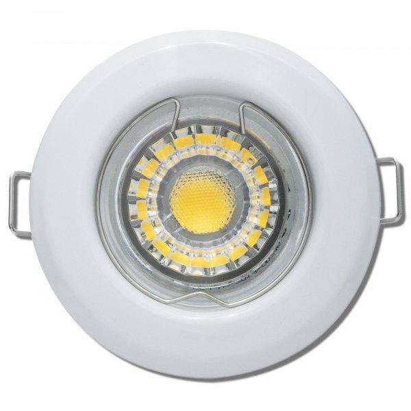 LED Einbaustrahler Tom / 230V / 3Watt / 250Lumen / Weiss