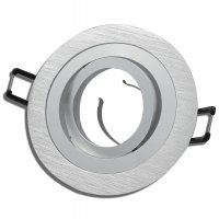 Aluminium Einbaustrahler Sandy / 230Volt / Silber / Gu10...