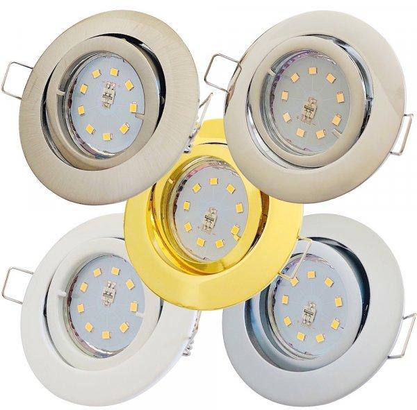 SMD LED Einbaustrahler Timo / 230Volt / 7Watt / 470Lumen / 110° Abstrahlwinkel