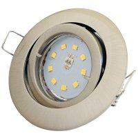 SMD LED Einbaustrahler Timo / 230Volt / 7Watt / 470Lumen...