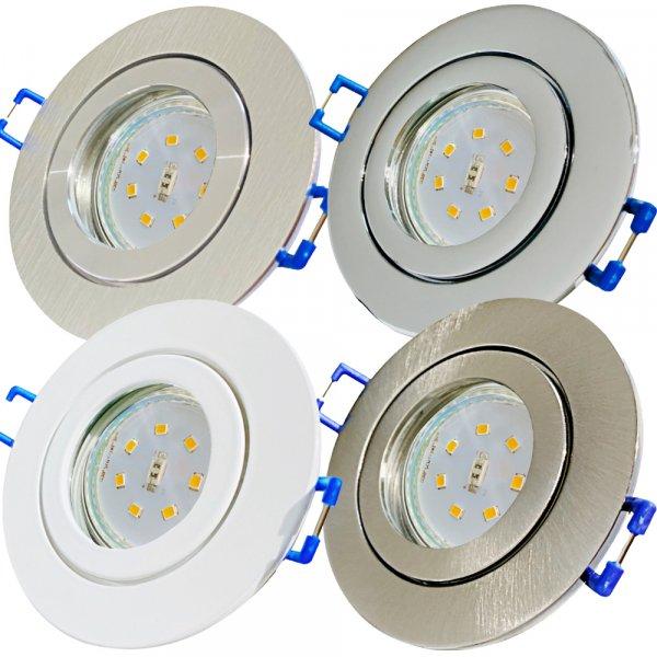 SMD LED Bad Einbauleuchte Marina / 230 Volt / IP44 / STEP DIMMBAR / 5Watt