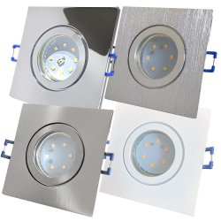 SMD LED Bad Einbauleuchte Marin 230Volt / 3W, 5W oder...