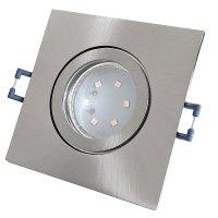 IP44 | SMD LED Einbauleuchten Marin | 3Watt | 230Volt | Quadratisch