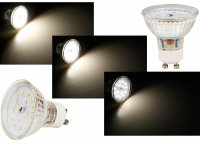 SMD LED Einbaustrahler Mia / 3 - Stufen Dimmbar per Lichtschalter / 230Volt / 5W / Schwarz