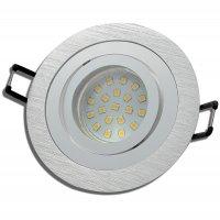 SMD LED Einbaustrahler Sandy / 3 - Stufen Dimmbar per...