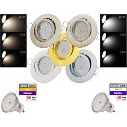 SMD LED Einbauspot Timo / 3 - Stufen Dimmbar per...