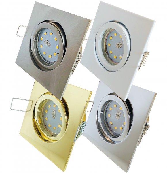 SMD LED Einbauspot Dario / 3 - Stufen Dimmbar per Lichtschalter / 230Volt / 5W / 470Lumen