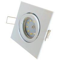 SMD LED Einbauspot Dario / 3 - Stufen Dimmbar per Lichtschalter / 230Volt / 5W / 400Lumen