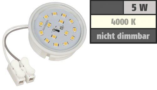 LED-Modul, 5Watt, 400 Lumen, 230Volt, 50 x 23mm, Neutralweiß, 4000Kelvin