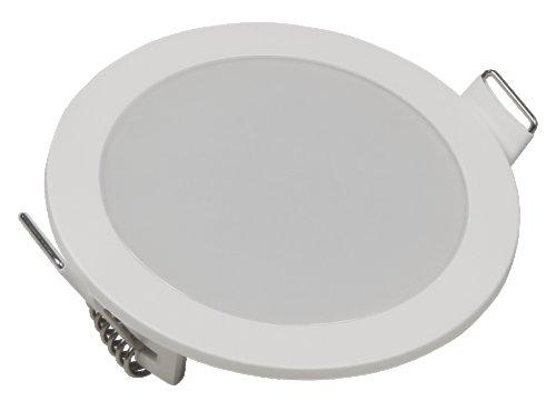 LED-Panel LP-90IP, 220V, 5W, Ø=90mm, Loch=78mm, 400lm, IP54, 3000K, warmweiß