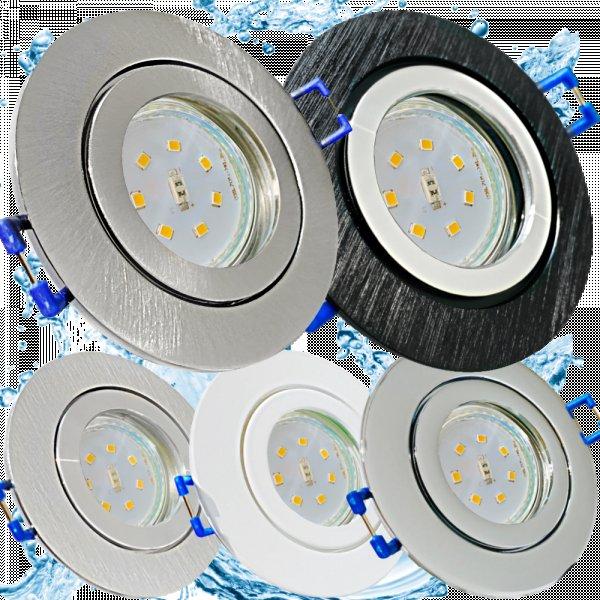 Flache LED Bad Einbauleuchten Marina / 230V / 5W / IP44, 15,00 €