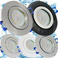 LED Einbaustrahler Marina / 230V / 5W / Loch = 60 - 68mm...