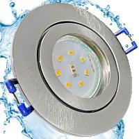 LED Einbaustrahler Marina / 230V / 5W / Loch = 57 - 65mm / ET = 32mm / IP44