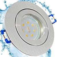 LED Einbaustrahler Marina / 230V / 5W / Loch = 60 - 68mm / ET = 32mm / IP44