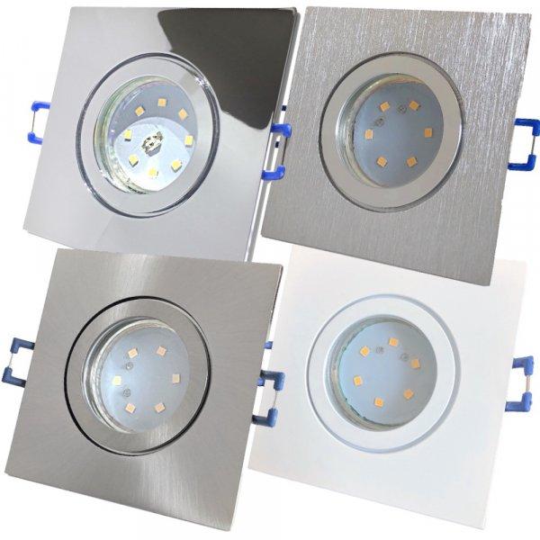 LED Einbaustrahler Marin / 230V / 5W / Loch = 57 - 65mm / ET = 32mm / IP44