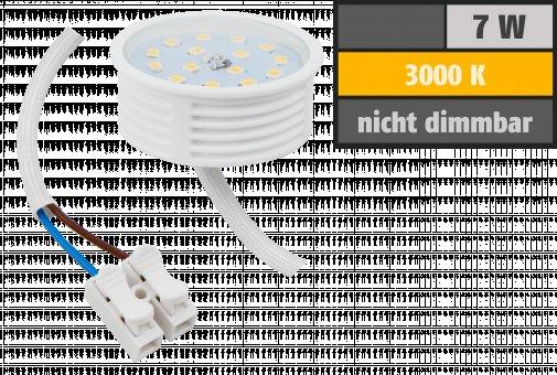 LED-Modul, 7Watt, 470Lumen, 230Volt, 50 x 23mm, Warmweiß, 3000Kelvin