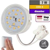 LED-Modul, 7Watt, 470Lumen, 230Volt, Step dimmbar, 50 x...