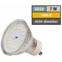 SMD LED Einbaustrahler Jan / 7Watt / 230Volt / 110° Leuchtwinkel / Betrieb ohne Trafo möglich.