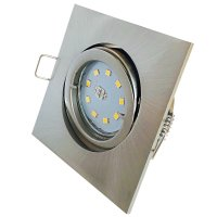 Flacher SMD LED Einbaustrahler Dario / 220Volt / 5Watt /...