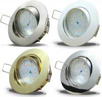 Flacher SMD LED Einbaustrahler Jan / 220Volt / 5Watt /...