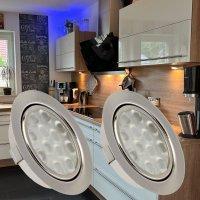 2 Stück LED Möbel Einbauleuchten 12V | 3W |...