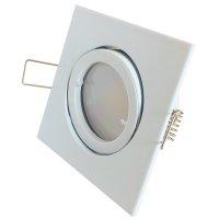 9 Watt LED Einbaustrahler Dario   900 Lumen   230Volt   Gu10 Fassung   IP20