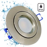 9 Watt / LED Badezimmer Einbauspot Marina 230Volt / IP44...